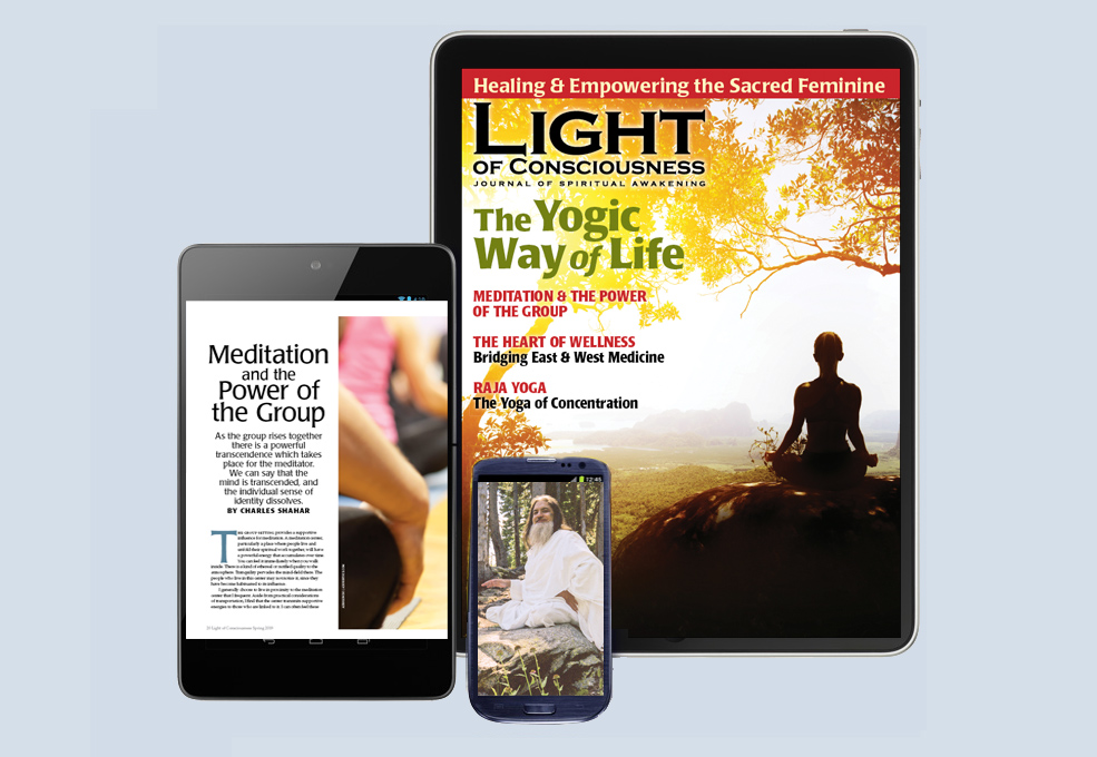 View the Light of Consciousness Magazine Digital Edition
