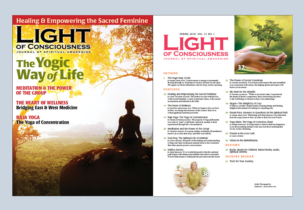Inside the Current Light Of Conscious Magazine Issue
