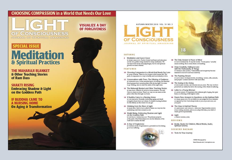 Light of Consciousness a Spiritual Magazine | Inspirational