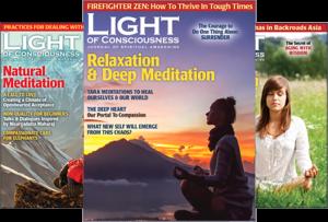 Buy Light of Consciousness Spiritual Magazine Back Issues