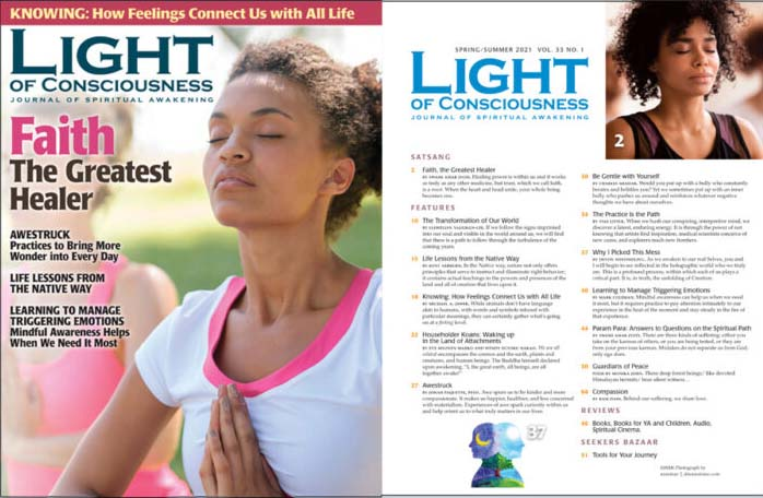 Light of Consciousness Current Issue